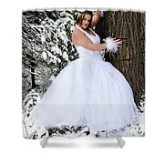 Ice Princess Sara 10 Shower Curtain