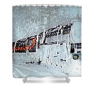 Ice Queen Express Shower Curtain