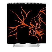 Ice Queen Shower Curtain