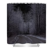 Ice Road Shower Curtain