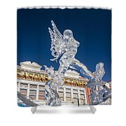 The Annual Ice Sculpting Festival In The Colorado Rockies, The Allure Of A Siren Shower Curtain