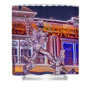The Annual Ice Sculpting Festival In The Colorado Rockies, The Beguiling Siren Shower Curtain
