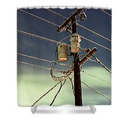 Ice Storm 2 Shower Curtain