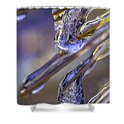 Ice Storm II Shower Curtain