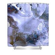Ice Throne Shower Curtain