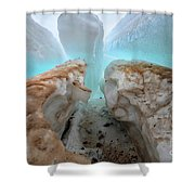 Ice Tooth Shower Curtain