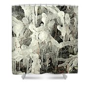 Ice Works Shower Curtain