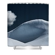 Iceberg And Cloud Shower Curtain