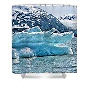 Iceberg Glacier Alaska  Shower Curtain