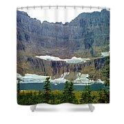 Iceberg Lake Shower Curtain