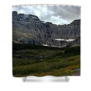 Iceberg Lake Trail Shower Curtain