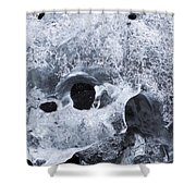Iceberg On Jokulsarlon Iceberg Beach #07 Shower Curtain