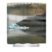 Iceberg Reflections Shower Curtain