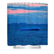 Iceberg Sunset Shower Curtain