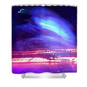 Icedance Shower Curtain