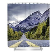 Icefield Parkway Shower Curtain