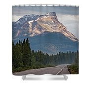 Icefields Parkway Banff National Park Shower Curtain