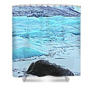 Iceland Glacier Bay Glacier Mountains Iceland 2 322018 1789.jpg Shower Curtain