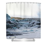 Iceland Glacier Mountains Sky Clouds Iceland 2 2142018 1742.jpg Shower Curtain