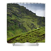 Iceland Hill Shower Curtain