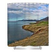 Iceland Landscape # 8 Shower Curtain