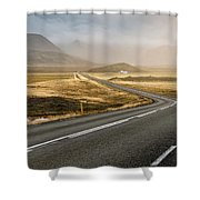 Iceland Ring Road 1 Shower Curtain