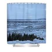 Iceland Trees Mountains Rivers Lakes Iceland 2 2112018 0942 Shower Curtain
