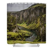 Iceland Valley Shower Curtain