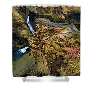 Icelandic Autumn Shower Curtain