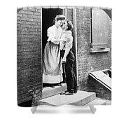 Iceman & Housewife Shower Curtain