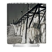 Icescape Shower Curtain