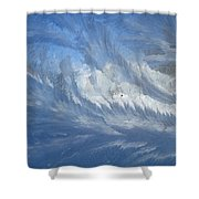 Icescapes 1 Shower Curtain