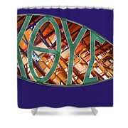 Ichthys Fish Shower Curtain