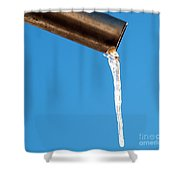 Icicle 2 Shower Curtain