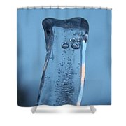 Icicle Reflections Shower Curtain