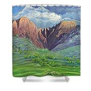 Icidi Valley Shower Curtain