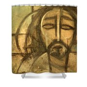 Icon Number 6 Shower Curtain