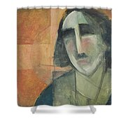 Icon Number Five Shower Curtain