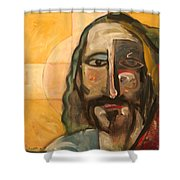 Icon Number Four Shower Curtain