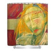 Icon Number Ten  Shower Curtain
