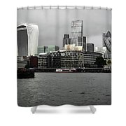 Iconic London Skyline Shower Curtain