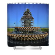 Iconic Pineapple Shower Curtain