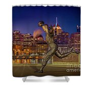 Iconic Pittsburgh Shower Curtain