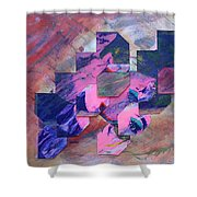Iconoclasm 3 Shower Curtain