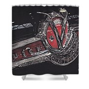 Icons Buick V8 Shower Curtain