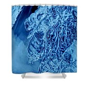 Icy Fingers Shower Curtain