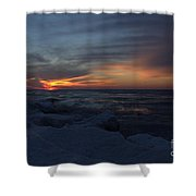 Icy H2o 3 Shower Curtain