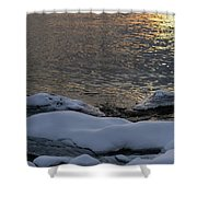 Icy Islands - Shower Curtain