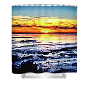 Icy Waters Shower Curtain