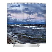 Icy Waters Of Superior Shower Curtain